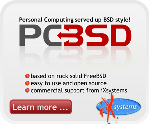 PC-BSD & DesktopBSD artwork